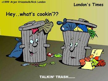 , yang isinya mengajak kita untuk menjaga kebersihan lingkungan